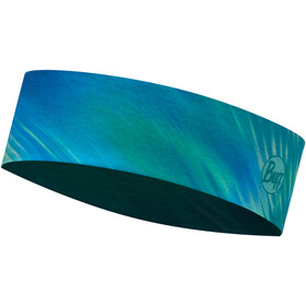Buff Coolnet UV+ Slim Headband shining turquoise